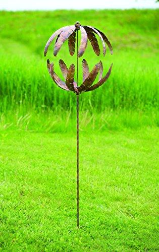 Happy Gardens 20'' Flower Globe Spinner by Happy Gardens (Image #1)
