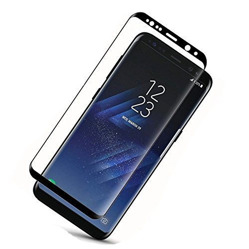 S8 Plus Screen Protector (Full Screen Coverage), Asstar 9H Hardness...