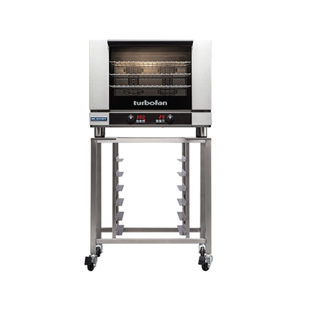 Moffat E28D4/SK2731U Turbofan Electric Countertop Convection Oven, (4) Full Size Sheet Pan Capacity With SK2731U Stand & Digital Controls by Moffat