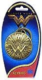 DC New Wonder Woman Shield Pewter Key Ring