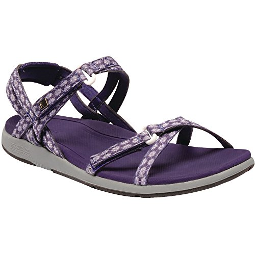 Walking Ladies Monica Rum Lightweight Womens Sandals PaislyPu Regatta Santa 5XP7qw4