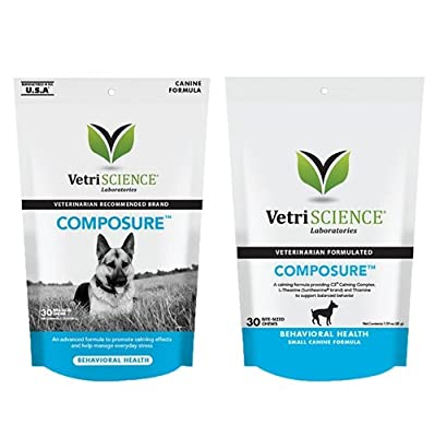 VetriScience Laboratories Composure, Calming Support for Dogs
