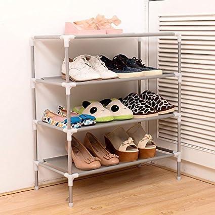 Veena 3 Layer 2345 Layers Portable Nonwoven Shoes Racks Shelf Storage Oraganizer Hange