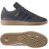 Adidas Men's Busenitz Pro Skateboard Shoe Solid Grey Collegiate Navy