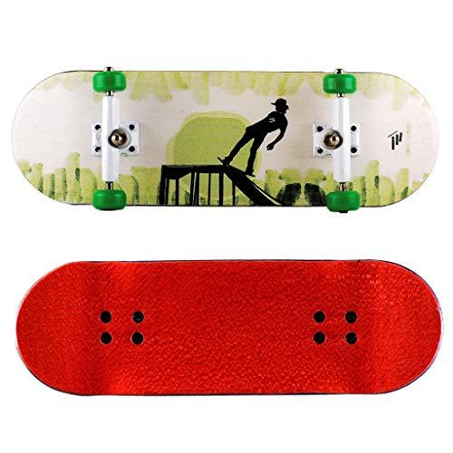 NOAHWOOD Wooden PRO Fingerboards (Deck,Truck,Wheel / a Set) (Skate Boy) ()