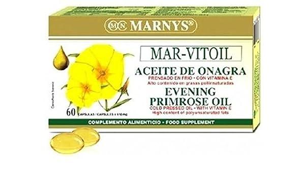 Aceite de Onagra 60 perlas de 1100 mg de Marnys: Amazon.es: Salud ...