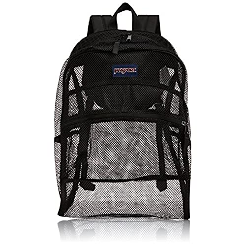 Jansport Mesh Back Pack Black