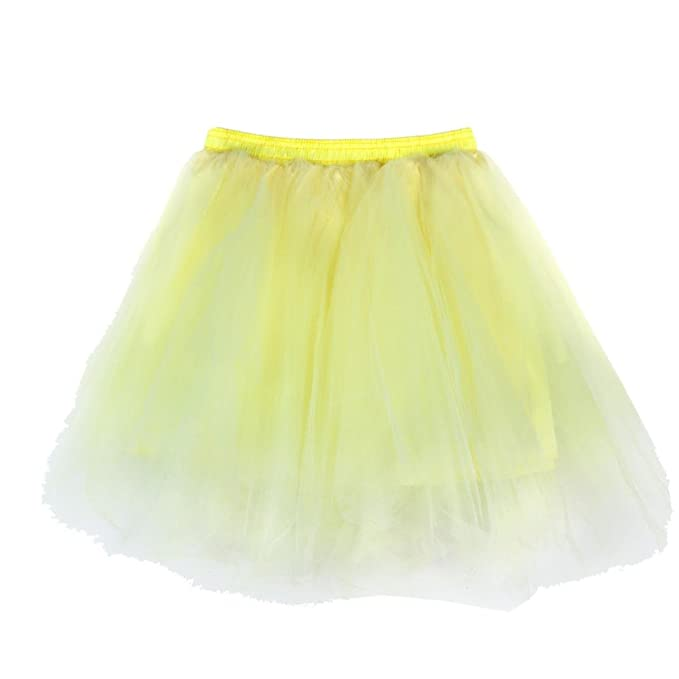 QinMM Faldas Tul Mujer Enaguas Cortas Tutus Ballet Mini para ...
