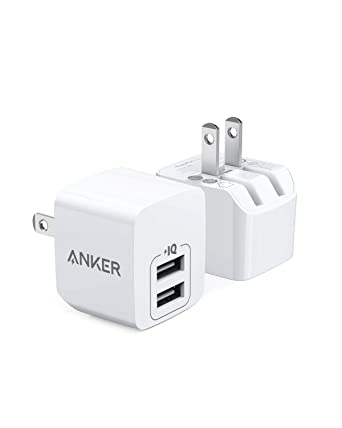 Amazon.com: Anker - Cargador USB de pared con enchufe ...