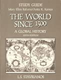 The World since 1500, Stavrianos, Leften Stavros, 0139660119