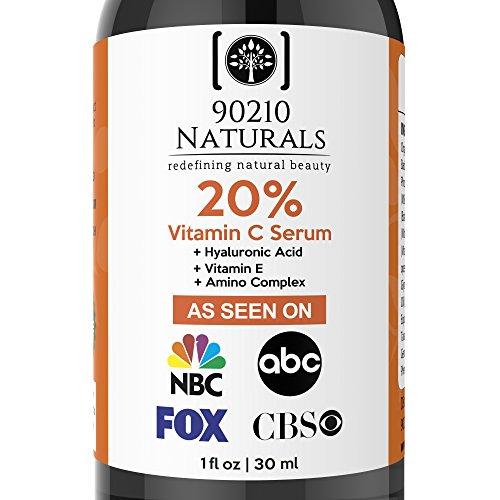 90210 Naturals Vitamin C Anti-aging Serum for - Item Natural