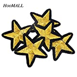 FairyMotion-Hoomall-Brand-20Pcs-Gold-Star-Embroidered-Iron-On-Patches-Sewing-Patches-For-Clothing-Cartoon-Motif-Applique-Sticker-For-Clothes-Perfect-Patches