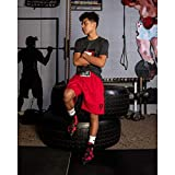 Title Boxing Hyper-Elite Mid Boxers, Red/Black, 10