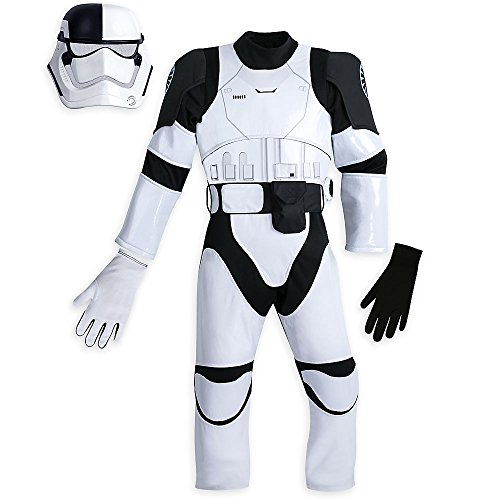 Star Wars The First Order Judicial Stormtrooper Costume for Kids The Last Jedi Size 4 -