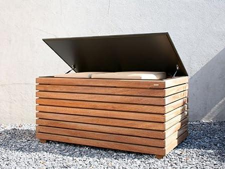 Conmoto Sino Cojín baúl - Forte - Barnizado de madera - 64 x ...