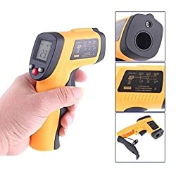 Sun Port Instant Reading Handheld Non Contact Digital Laser Infrared Thermometer Temperature Scanner Range 58°f To 716°f 50 380 °c Jc Hwcwq