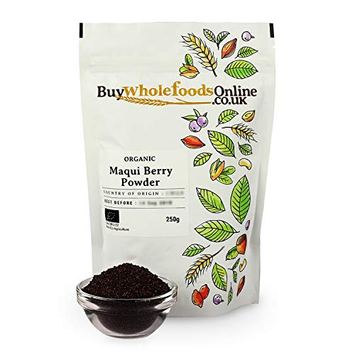 Organic Maqui Berry Powder 250g Buy Whole Foods Online Ltd Buy Online In Bosnia And Herzegovina Buy Whole Foods Online Ltd Products In Bosnia And Herzegovina
