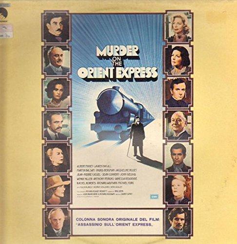 MURDER ON THE ORIENT EXPRESS (ORIGINAL SOUNDTRACK LP, 1974)