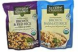 General Variety Pack - Seeds Of Change Organic Rice (8.5oz)- Brown & Red Rice, Brown Basmati Rice