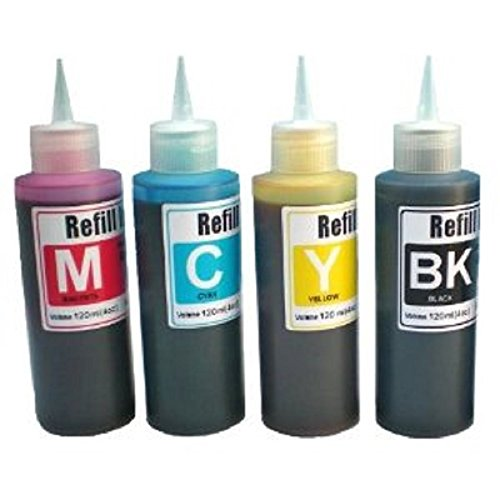 HP 88 Ink refill set for CIS/CISS or refillable cartridge...