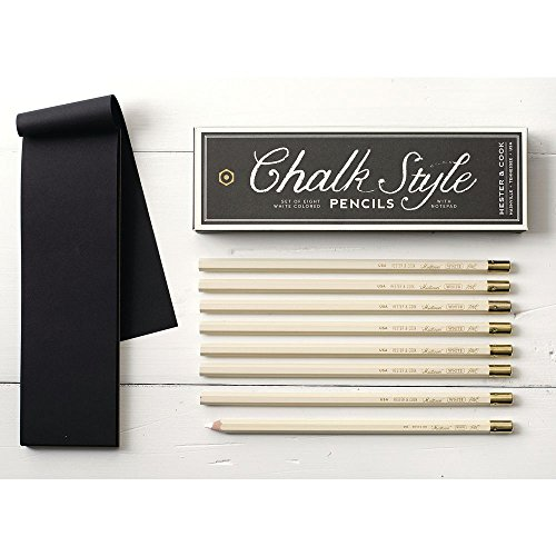 Hester and Cook Chalk Style Pencil Pack by HESTER AND COOK DESIGN GROUP