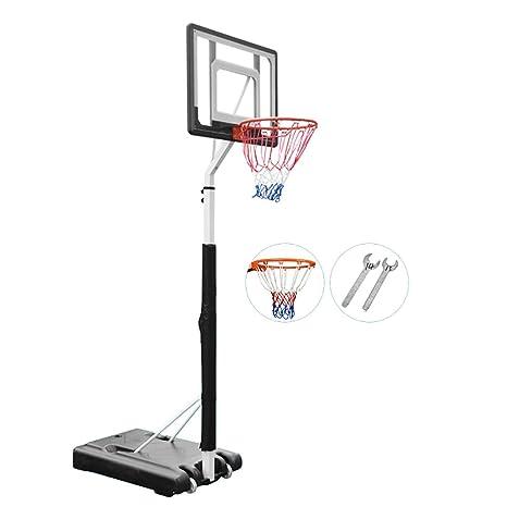 Amazon.com: ERRU - Canasta de baloncesto de acero ajustable ...