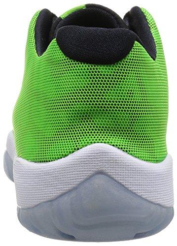 Nike Air Jordan Future Low, Zapatillas de Deporte Exterior Para Hombre VERDE PULSE/NEGRO-BLANCO