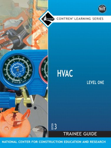 HVAC Level 1 Trainee Guide, Paperback (3rd Edition)