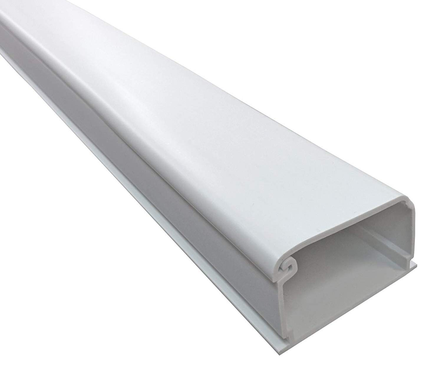2150 Series Latching Cable Raceway - 2'' x 1.5'' Channel Size - 1 Stick - 5FT Long - Color: White