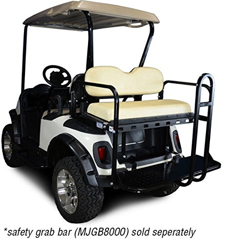 Cargo One Base 01 - Madjax Rear Flip Folding Seat for EZGO RXV 2008-2016 Sandstone Color