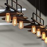 NALAKUVARA Edison Light Bulb, Antique Style Amber