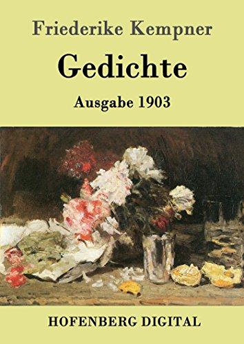 Amazoncom Gedichte Ausgabe 1903 German Edition Ebook