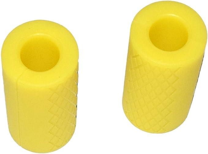 Amazon.com: E2shop - Empuñaduras para mancuernas, agarres de ...