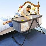 Qi Peng- Folding Cradle Bed Portable Newborn Baby