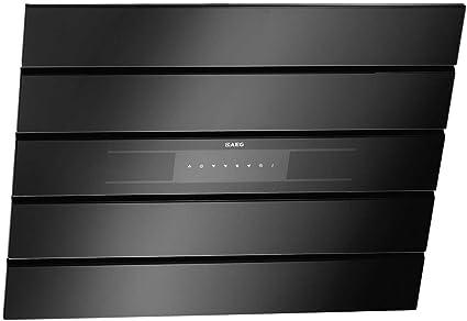 AEG X69453BV0 - Campana extractora de pared sin cabeza (90 cm), color negro: Amazon.es: Grandes electrodomésticos