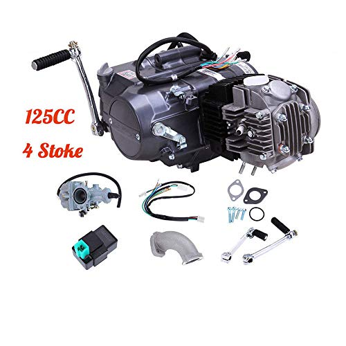 DY19BRIGHT 125CC 4 Stroke Manual Clutch Engine Pit Dirt Bike ATV Quad Fit Honda CRF50/70 US Stock ()