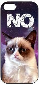 Grumpy Cat, NO 1056, iPhone 5 Premium Hard Plastic Case, Cover, Aluminium Layer, Quote, Quotes, Motivational, Inspirational, Theme Shell Kimberly Kurzendoerfer