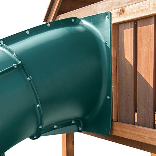 5 Ft Turbo Tube Slide Green by Swing-N-Slide (Image #4)