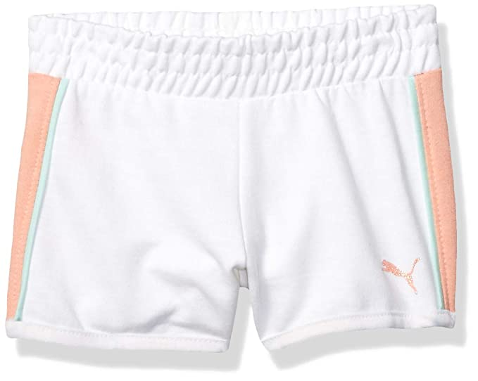 PUMA Girls French Terry Shorts
