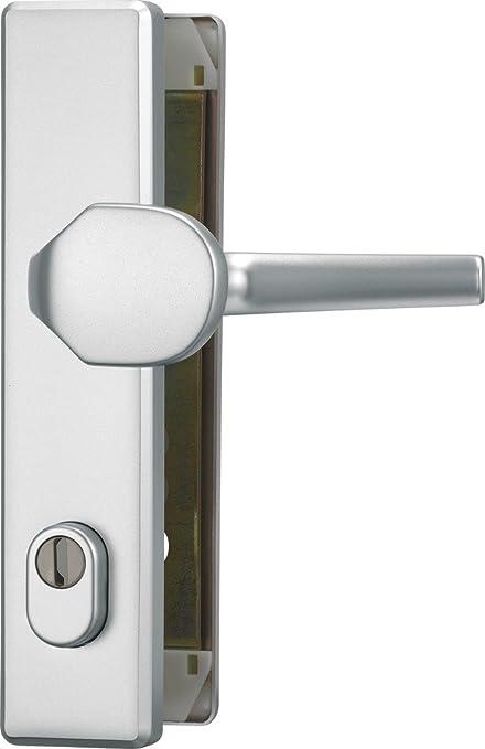 ABUS HLZS814 F1 EK 203510 - Blindaje para cerraduras de portal (aluminio, con protector