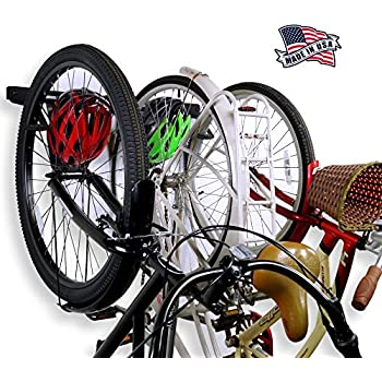 Amazon Com Bike Storage Racks Store Up To 6 Bikes