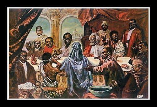 New Framed Black Pioneers African American Art Poster Print