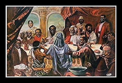 Amazoncom The Last Supper Great African Americans By Cornell