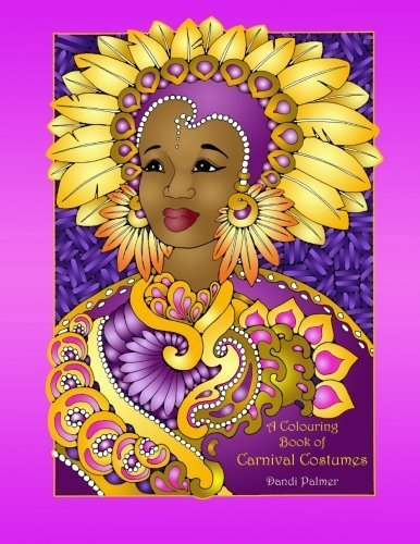 A Colouring Book of Carnival Costumes (Coloring Books) by Dandi Palmer (2016-05-06) (Peace Costumes)