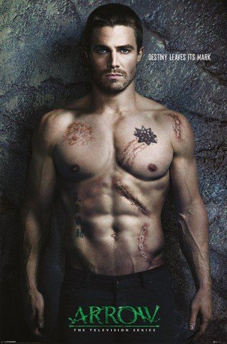 Posters: Arrow Poster - Oliver Queen, Destiny Leaves Its Mark