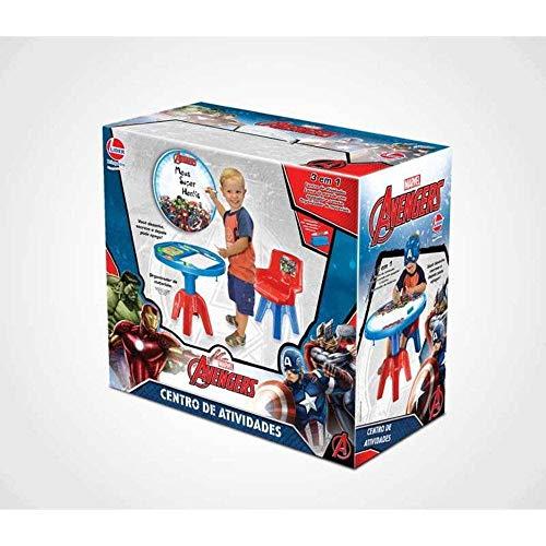 Lider Brinquedos Mesinha the Avengers com Cadeira Lider, Multicores