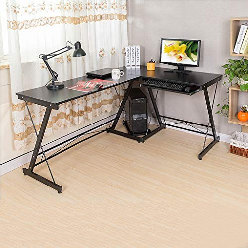 Writing Computer Desk Modern Simple Study Desk Industrial Style Folding Laptop Table for Home Office Notebook Desk Steel Wood Placed Keyboard Littay