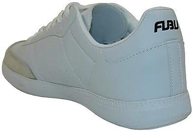 3c26629b849339 FUBU Trainer White White Size  7  Amazon.co.uk  Shoes   Bags