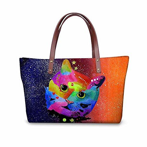 Bags FancyPrint Wallets School Bags Purse Stylish Foldable C8wcc1922al Women pBqF0gH6B