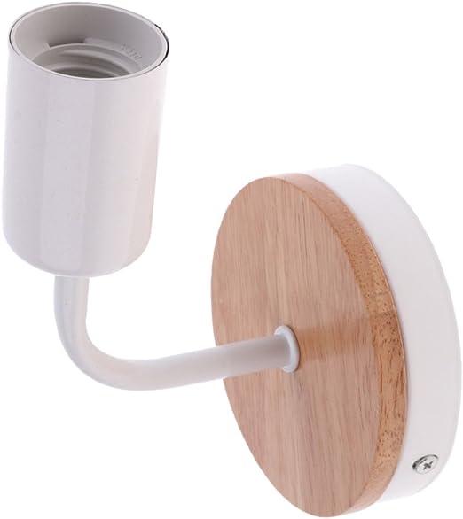 supporto lampada base parete